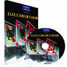 Eleccion de color DVD y Cartas