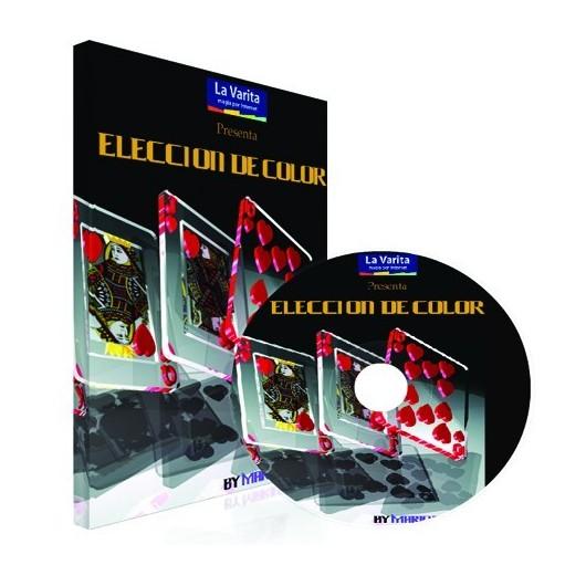 Eleccion de color DVD y Cartas