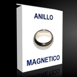 Anillo Magnetico Plata 18mm