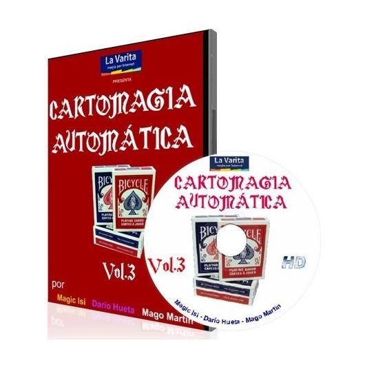Cartomagia Automatica Vol. 3 DVD la varita