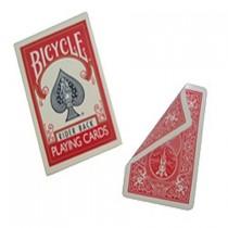 Bicycle doble dorso rojo/rojo