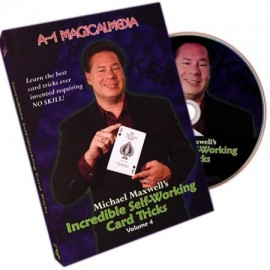 DVD Incredible sefl-working card tricks vol 4