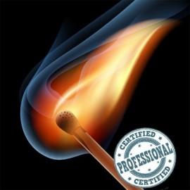 Producción de cerillas encendidas (3 unidades)