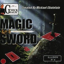Magic Sword Card (roja) by Michael Chatelain