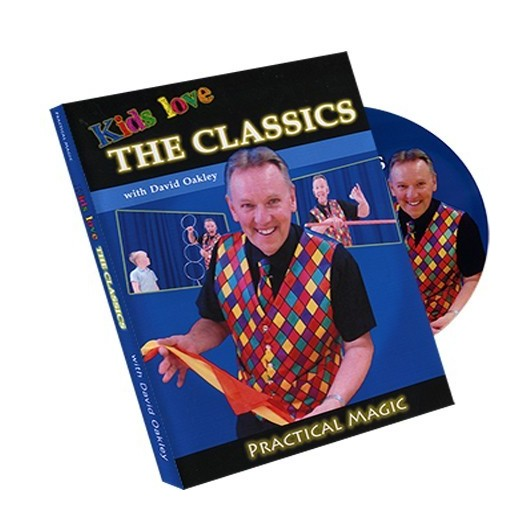 DVD Kids Love Classics by David Oakley