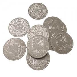 Monedas manipulacion 1/2 Dolar