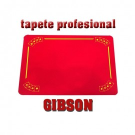 Tapete Gibson negro con ases