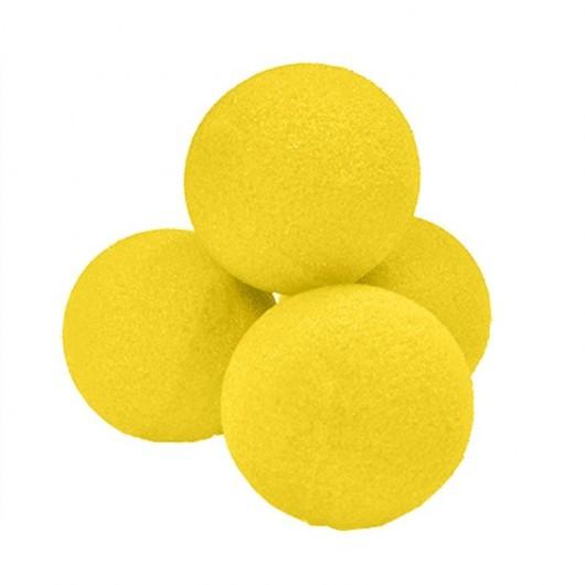 Set Bolas esponja Amarilla(1,5) 5 unidades
