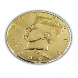 Medio dólar dorado