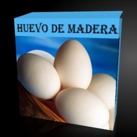 Huevo de madera