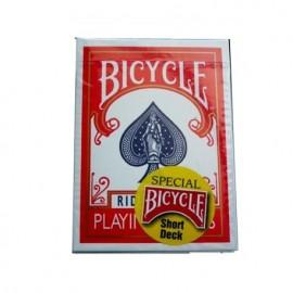 Baraja Bicycle cartas cortas (roja)