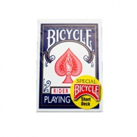 Baraja Bicycle cartas cortas (azul)