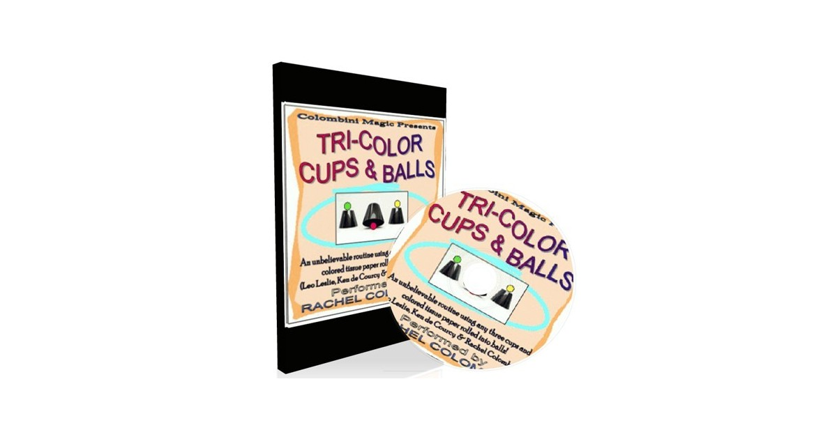 Tri-Color, (Cubiletes) by Rachel Colombini