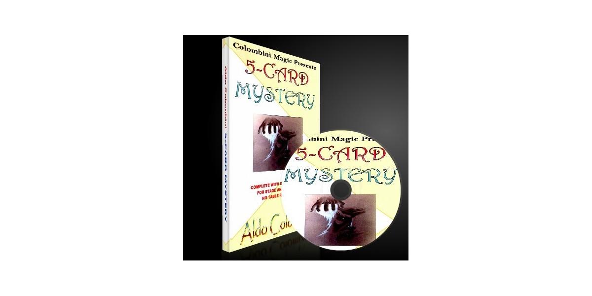 5 Card Mistery by Aldo Colombini