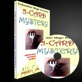 5 Card Mistery by Aldo Colombini
