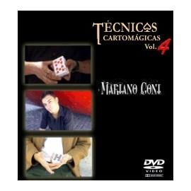 Tecnicas Cartomagicas Vol.4 Mariano Goñi