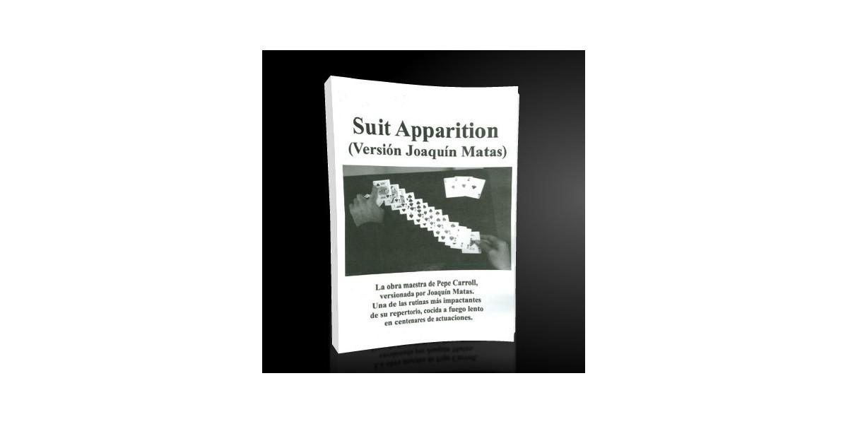 Suit Aparition by Joaquín Matas