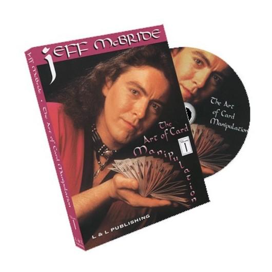 DVD MANIPULACION CON CARTAS 1 JEFF MCBRIDE