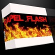 Papel flash (4 hojas) by Top Secret