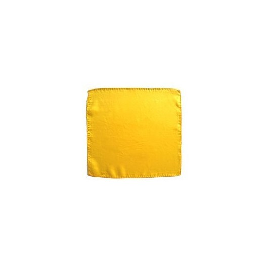 """Pañuelo seda amarillo 24"""" (60 cm)"""