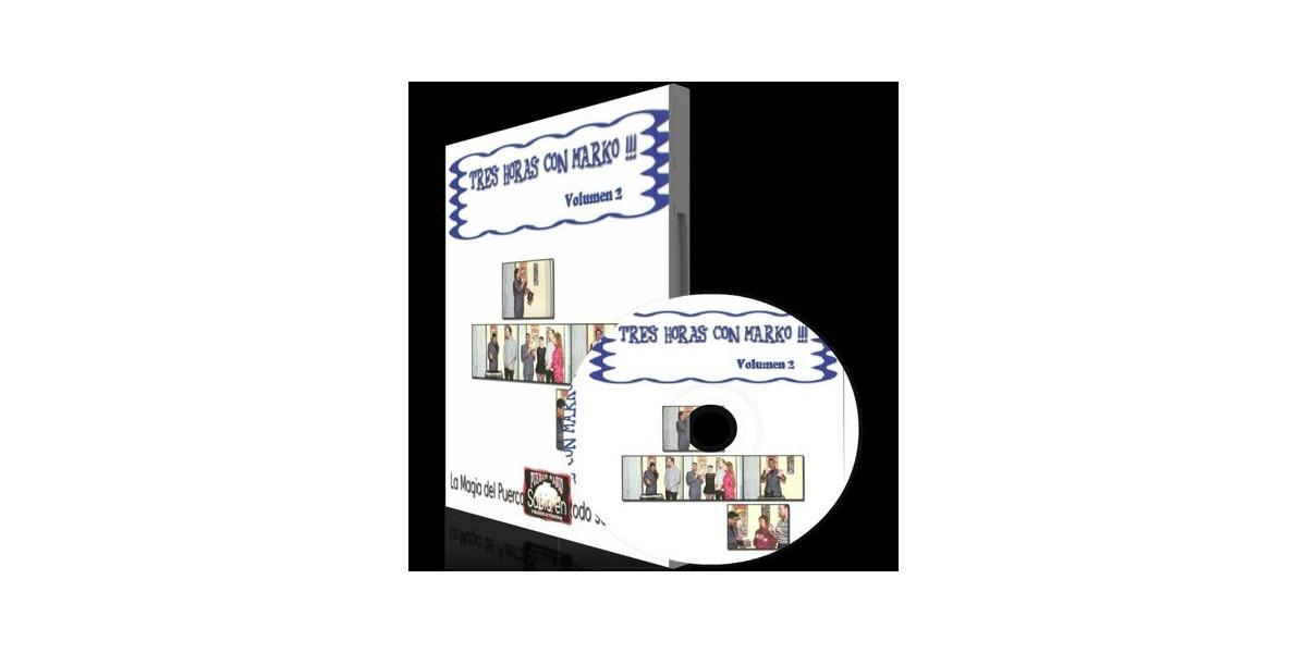 DVD Tres horas con Marko vol.2