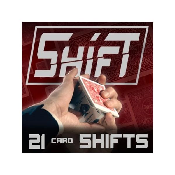 21 Card Shifts