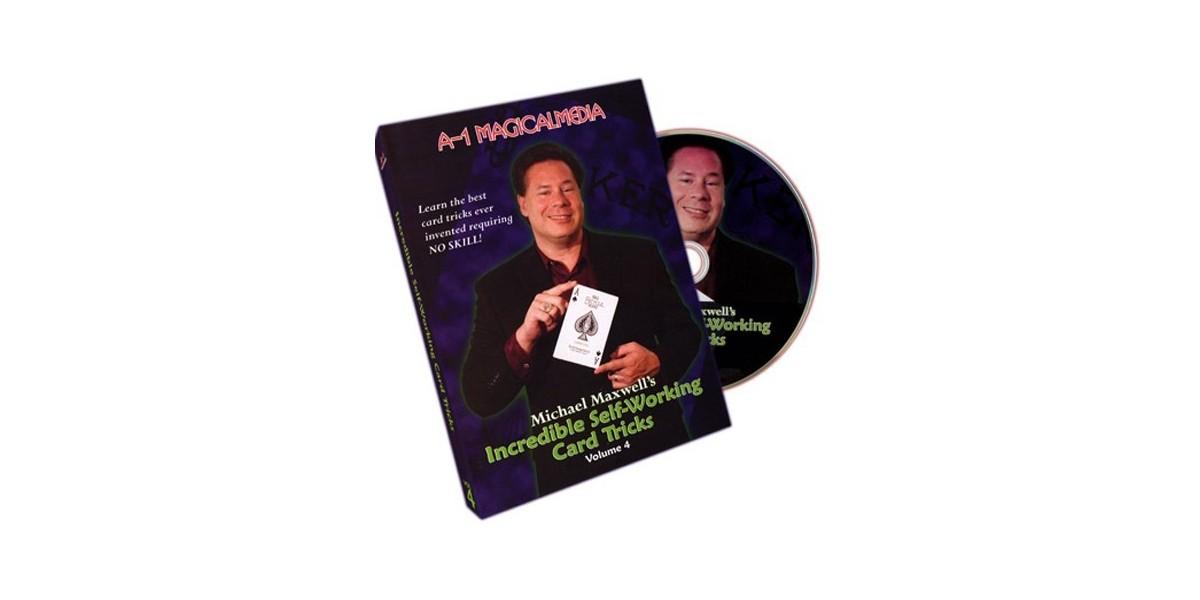 DVD Incredible sefl-working card tricks vol 4