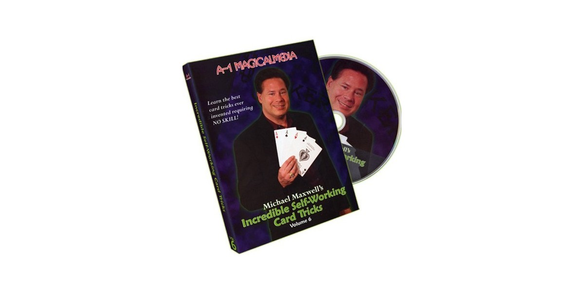 DVD Incredible self-working card tricks vol 6