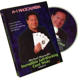 DVD Incredible self-working card tricks vol 6