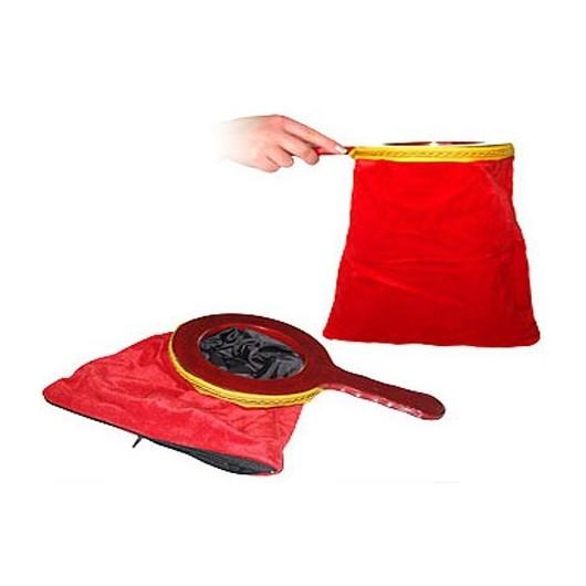 Bolsa de cambios roja con cremallera (Dos cambios)