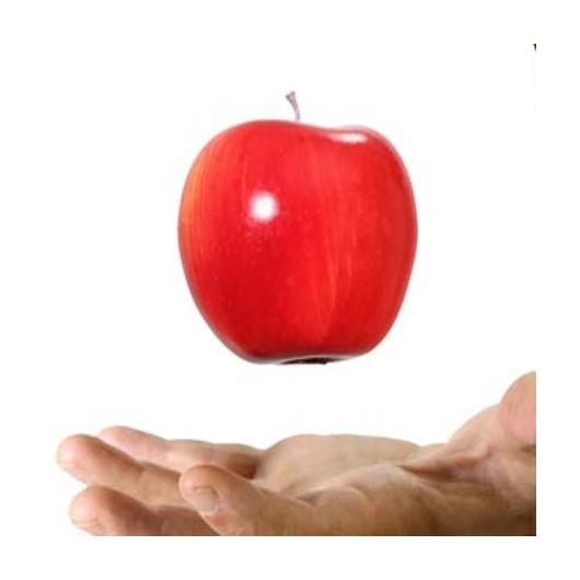 Floating Apple (manzana de repuesto) by Steve Fearson