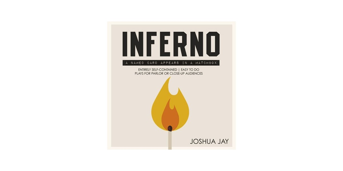 Inferno DVD + gimmicks by Joshua Jay