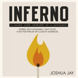 Inferno DVD + gimmicks by Joshua Jay