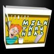 Milk Through Head