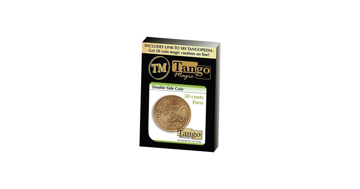 Moneda doble cara 50 cts