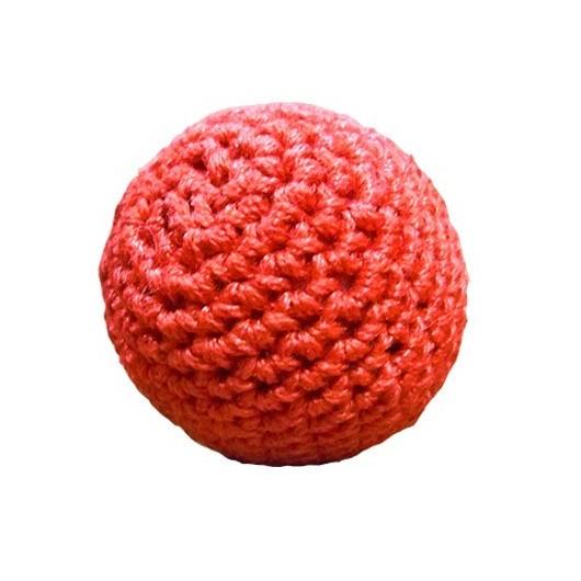 Bolas de crochet con metal