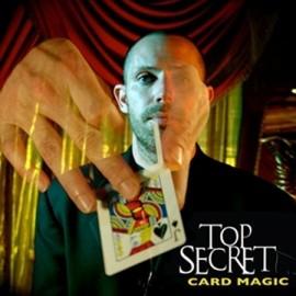 DVD Top Secret Card Magic