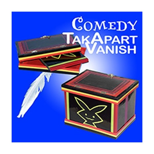 Comedy Tak-Apart Vanish w/ Feather
