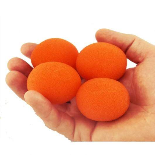 Set bolas esponja naranjas (4 bolas)