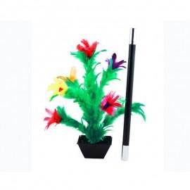 Aparición flor en varita deluxe