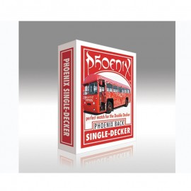 Baraja Phoenix Single Decker (roja)