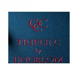 PREORDER Triple C (Azul) by Christian Engblom