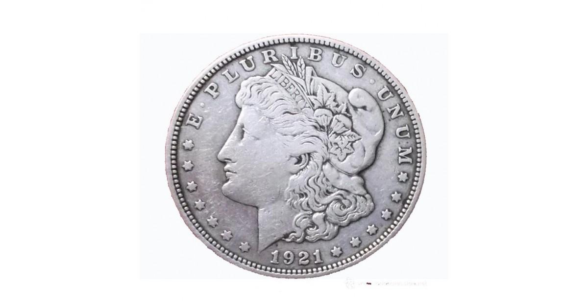 Moneda Morgan Acero ( Replica )