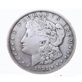 Moneda Morgan Acero ( Réplica )