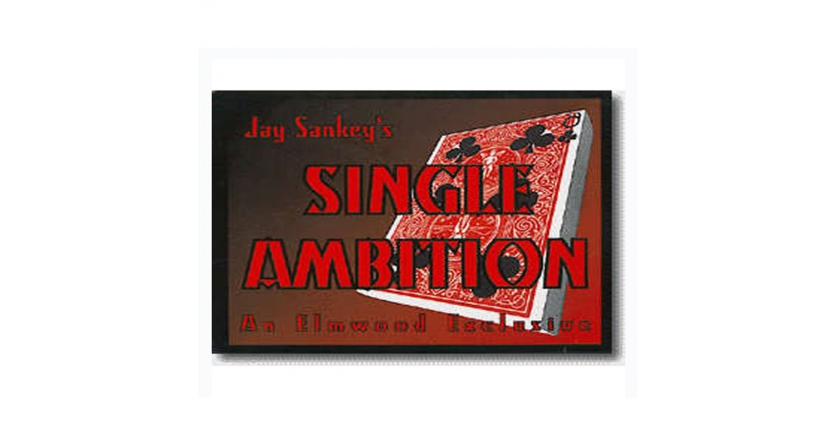 Single Ambition by Jay Sankey
