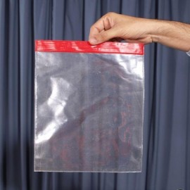Bolsa de forzaje transparente