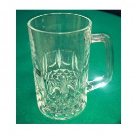 Auto destructive pitcher glass
