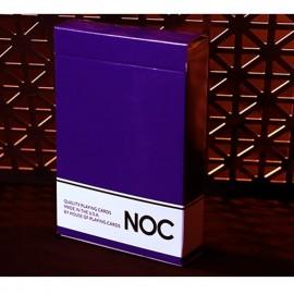 Baraja NOC Púrpura original