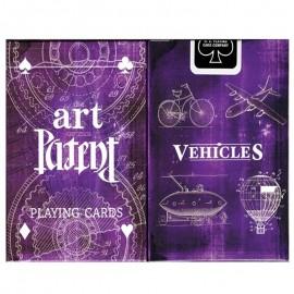 """Baraja """"Arte de patentes, vehículos"""" (edición limitada)"""