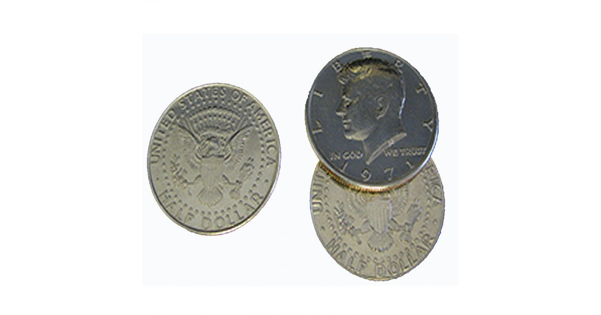 Flipper Coin 1/2 dólar